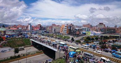 Análisis de la red vial en la ciudad de El Alto