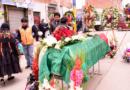 Despiden a héroe de octubre que falleció por no ser atendido en el Hospital del Norte