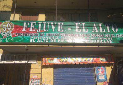 Fejuve y Evo Morales acuerdan entrega de obras por aniversario de El Alto