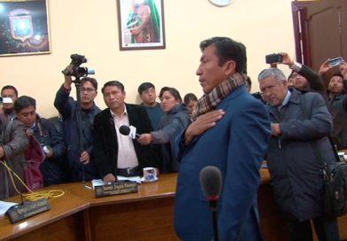 Marcelo Fernández es el nuevo concejal de El Alto en reemplazo de Édgar Calderón