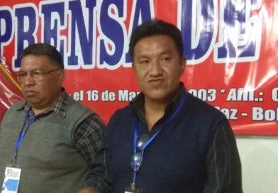 Rodolfo Apaza es el nuevo secretario general del Sindicato de Trabajadores de la Comunicación Alternativa y Comunitaria de El Alto