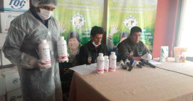 Senasag decomisa insecticidas con riesgo tóxico